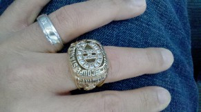 Ryan Walter's Stanley Cup Ring